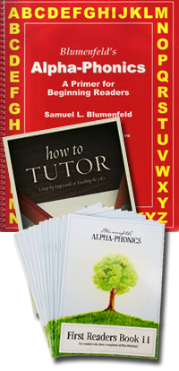 Alpha Phonics Primer, Readers & How to Tutor Set